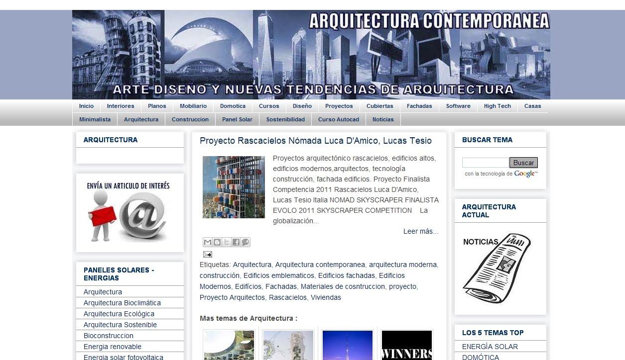 Directorio De Arquitectura Arquitectura Contempor 225 Nea