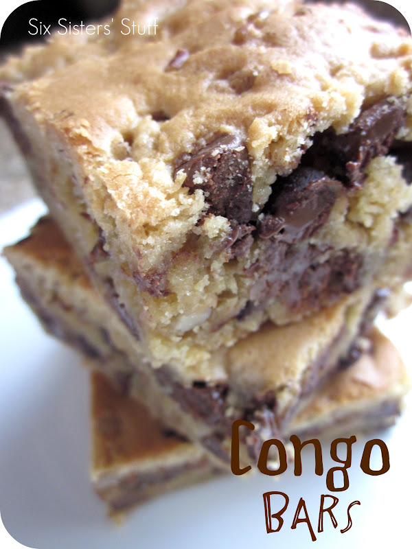 Congo Bars Recipe | Six Sisters' Stuff