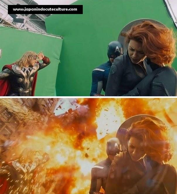 Efek Menakjubkan Di Balik Layar Film Hollywood Avenger