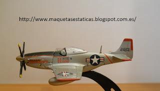 avión en miniatura Italeri 1:100 P-51 Mustang