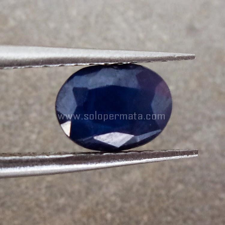 Batu Permata Blue Sapphire - SP497