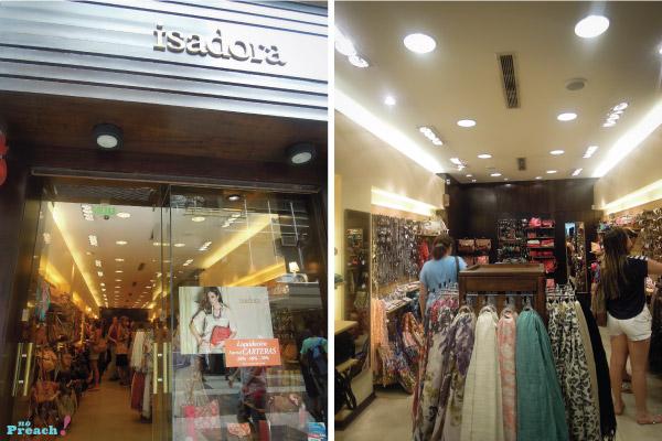 Loja de acessórios Isadora em Buenos Aires, Argentina