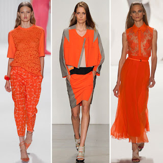 Orange Rush 2013 Moda Renkleri