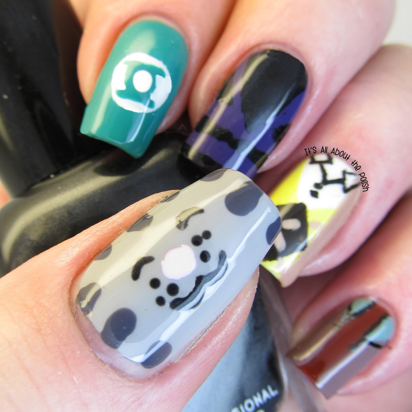It\'s all about the polish: Aussie Nails Monday - them nerd/geeky ...