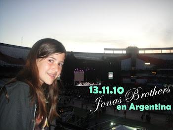 JONAS BROTHERS EN ARGENTINA 13.11.2010