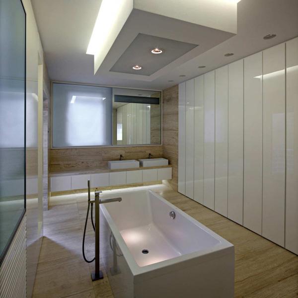 opciones en cielorrasos modernos minimalistas 2015