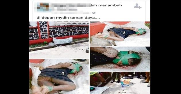 Gempar!! Kes Viral Bunuh Gadis Di Taman Daya