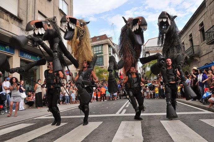 Festival de títeres en Redondela