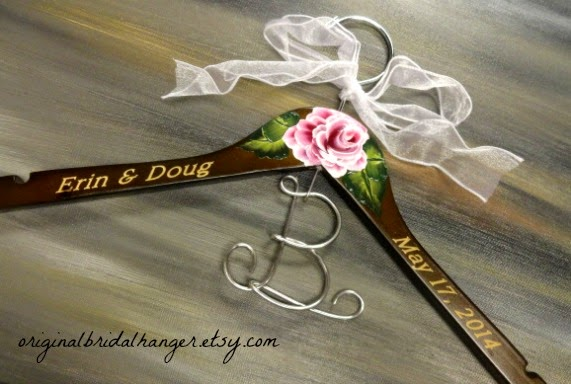 Custom Wedding Dress Hangers 4 Great I have decided this
