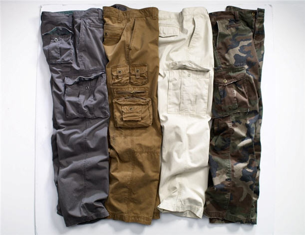 men's plus size cargo pants