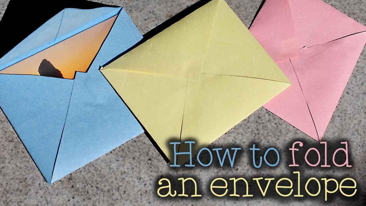 Pugdemonium How To Fold An Envelope
