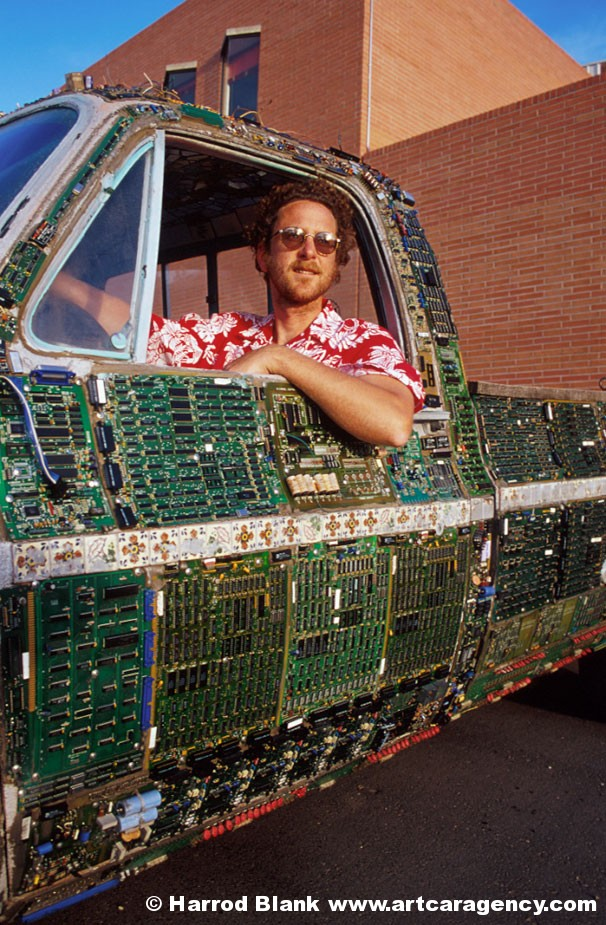 How To Recycle Recycled Circuit Board Art