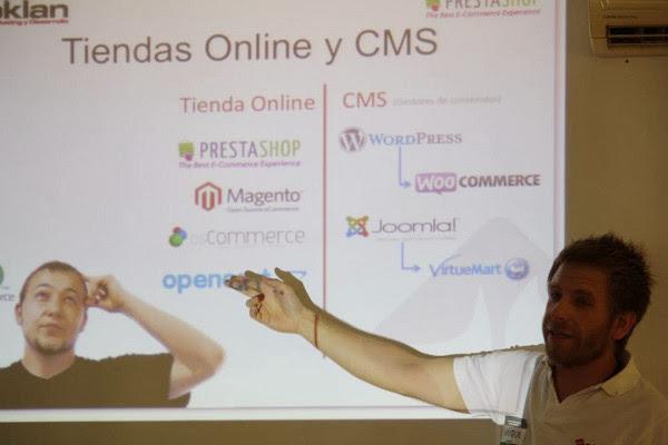 Presentación sobre ecommerce - Tiendas online por Enrique de Oklan