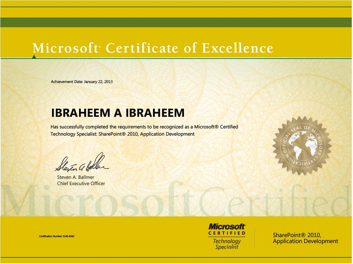 Youve Got Code Another Mcts Certificate In My Arsenal