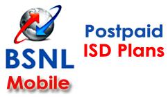 BSNL ISD Addon Plans