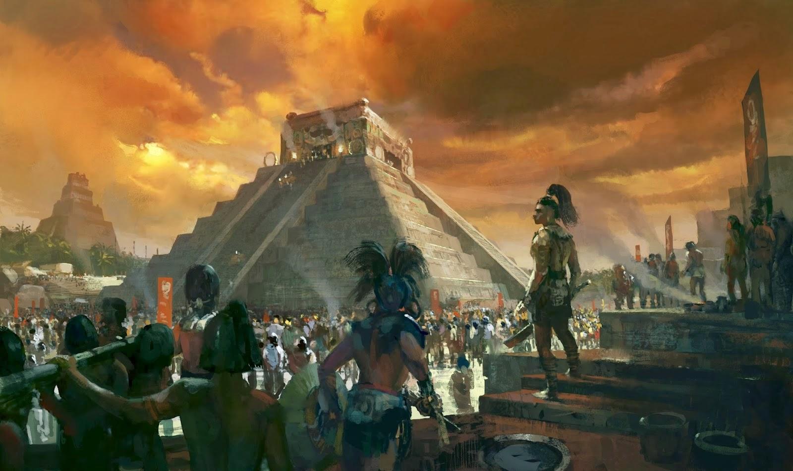 La Construcción de un Imperio: Los Mayas (8-14)