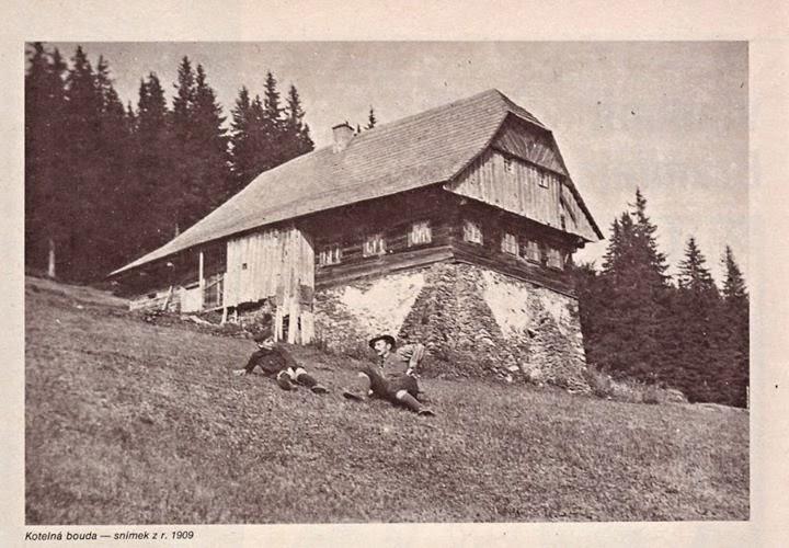 Kotelská bouda v roce 1909