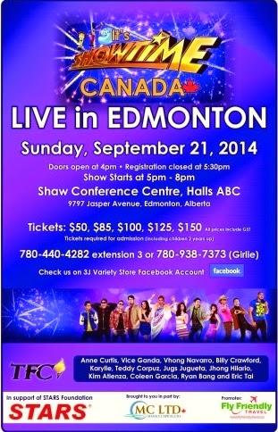 It's Showtime Live in Edmonton