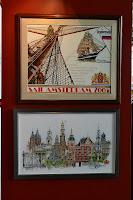 Парусник, Амстердам. Автор дизайнов Thea Gouverneur (Теа Гувернёр)
