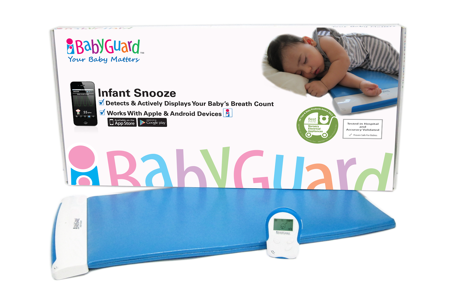 iBabyGuard Infant Snooze monitor