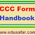 CCC FORM & CCC HANDBOOK