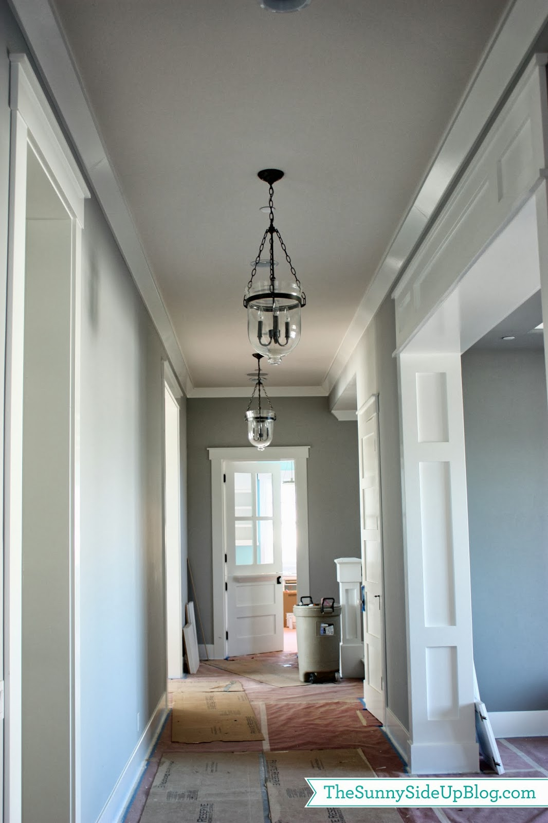 Pottery barn hundi lantern - I Put These Fun Hundi Lanterns From Pottery Barn In My Hallway They Were The Lights That I Had For My Upstairs Hallway Too But The Ceiling Isn T As High