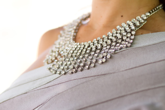 Collar Zara cristales