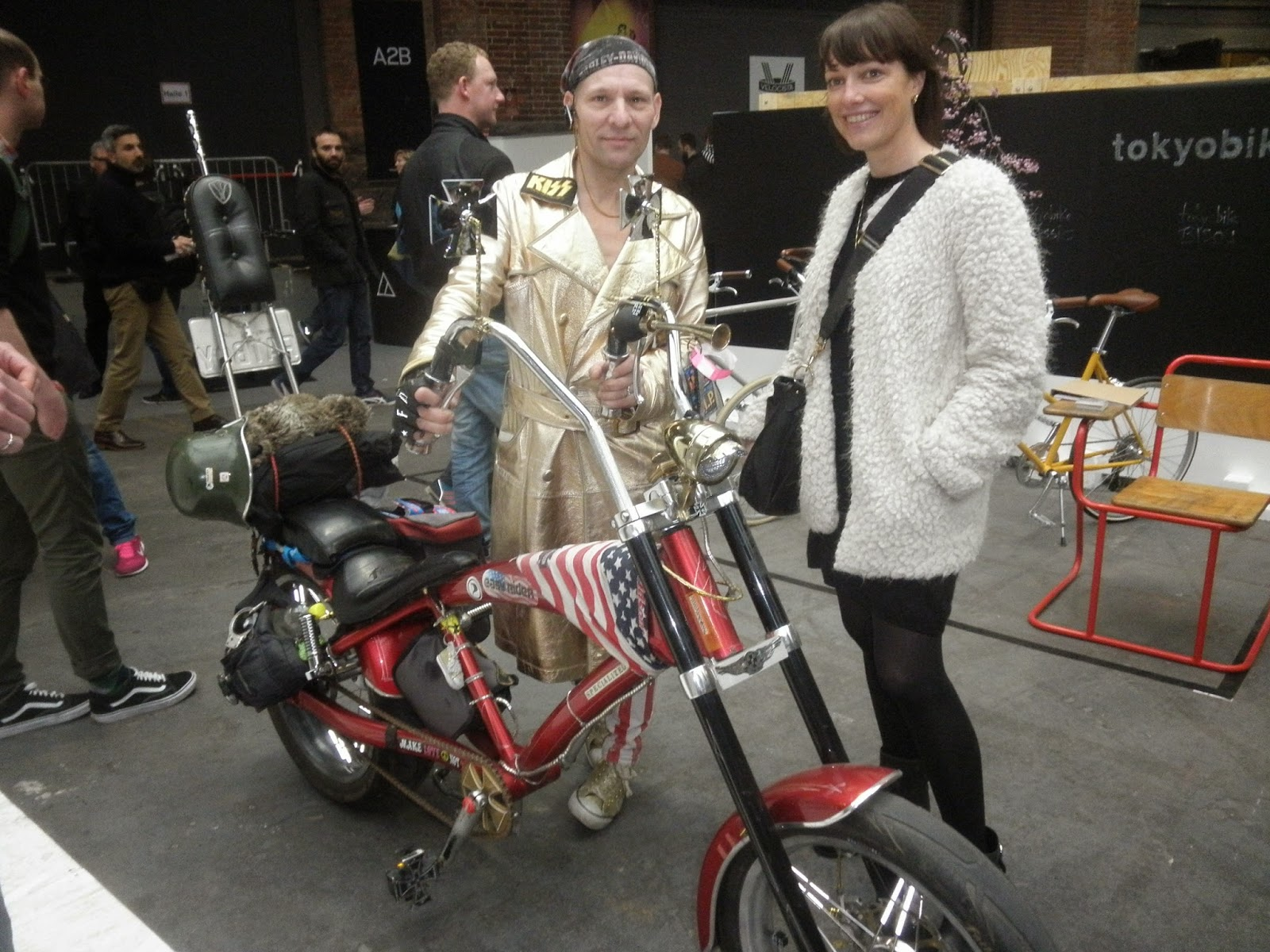 Zum Bericht über die Berliner Fahrrad Schau...