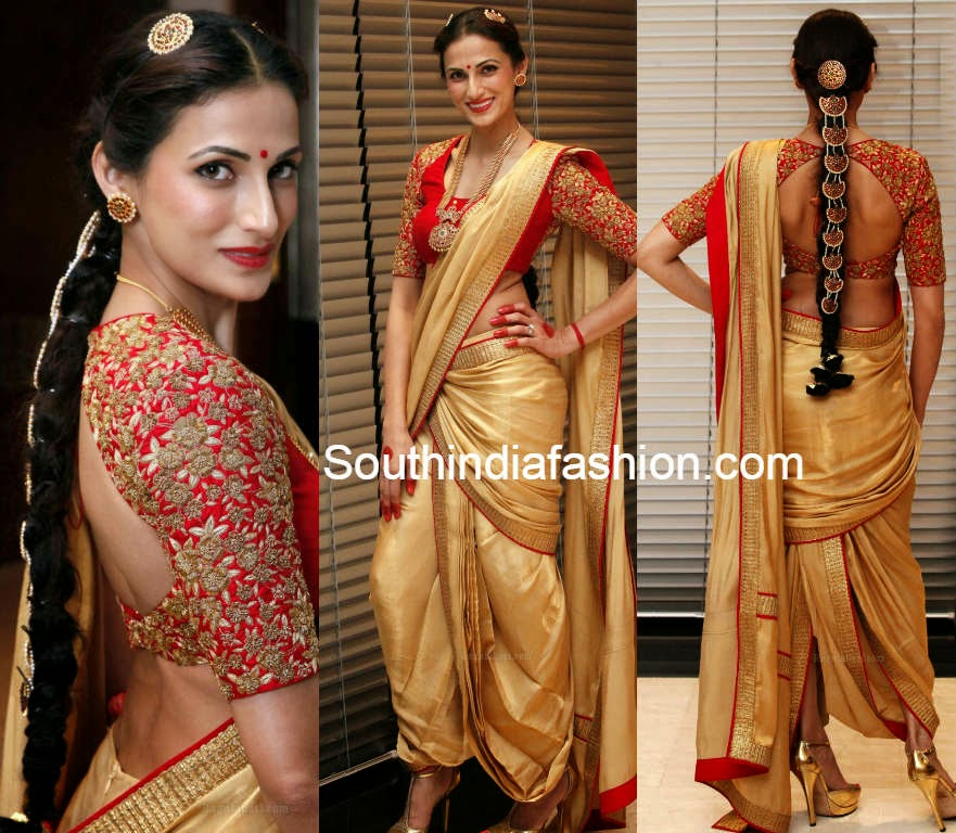 designer shilpa reddy at india fashion week dubai 2014