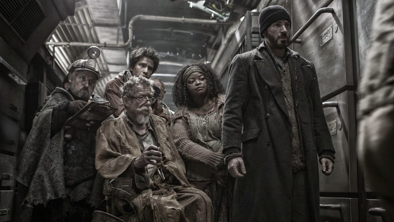 snowpiercer clark middleton john hurt luke pasqualino octavia spencer chris evans
