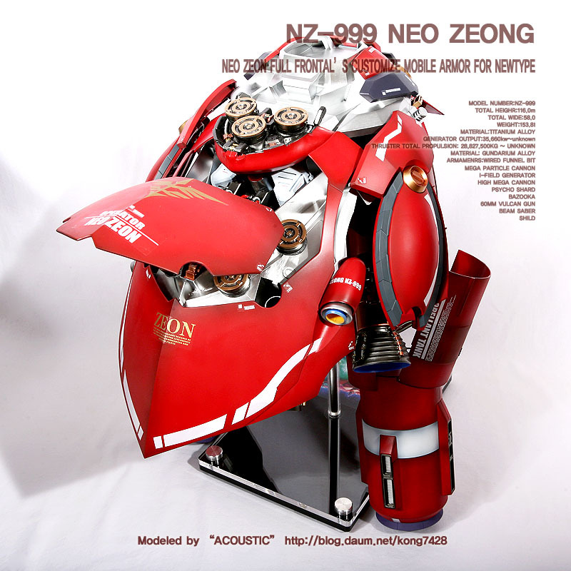 GUNDAM GUY: HGUC 1/144 Neo Zeong 'Open Hatch'