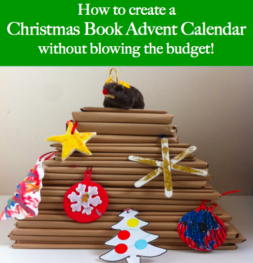 How to create a Christmas Book Advent Calendar without blowing the budget