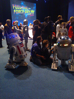 R5D4, R2D2, Feel the force day 2015