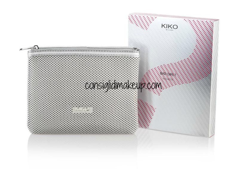 pochette bad girl kiko pochette porta trucco kiko