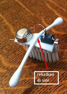 modifikasi robot sikat gigi