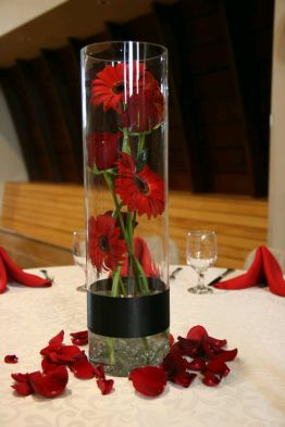 bases vidrio arreglos florales para bodas modernos sencillos que pic 1