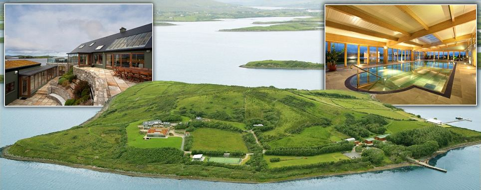 Fancy the quiet life private island off the west coast of for Luxury homes for sale ireland