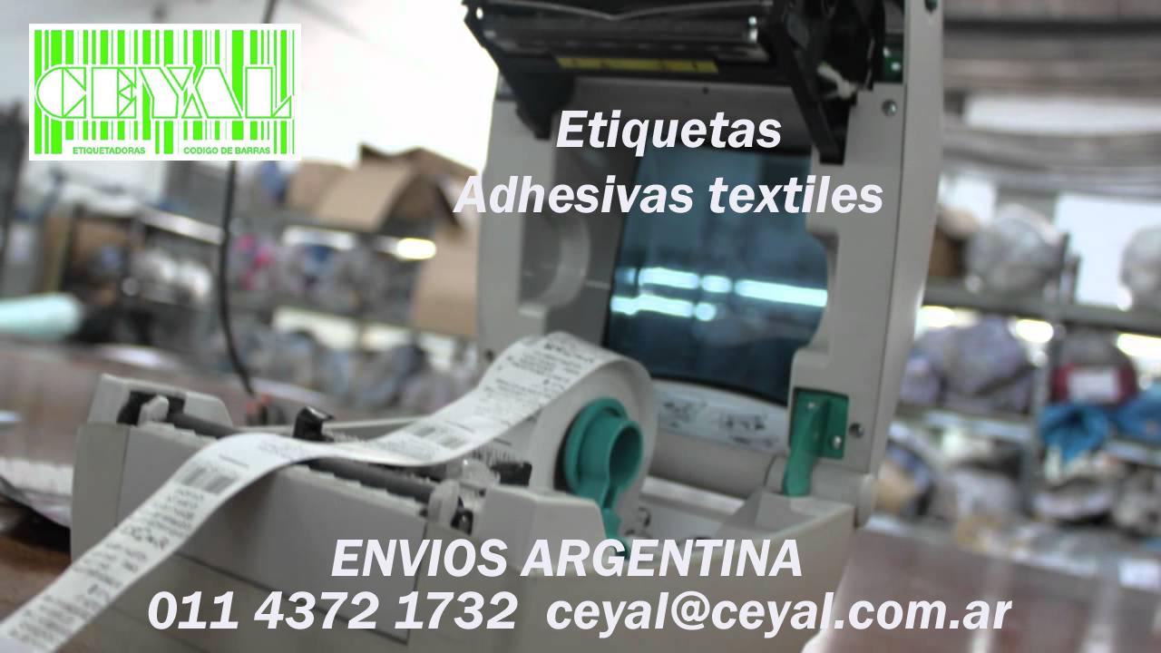 etiquetas en rollo para fabrica Buenos Aires
