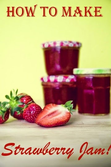 How To Make Strawberry Fruit Jam
