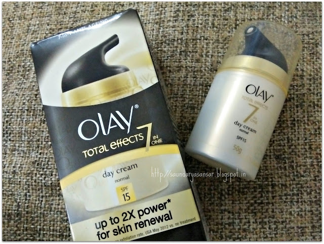 Olay Total Effects 7 in one Day Cream normal spf 15 Review
