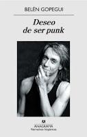 Deseo de ser punk, de Belén Gopegui