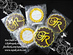 MONOGRAM COOKIES CHOCOLATE