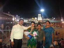 Tirupati Balaji Visit 2014