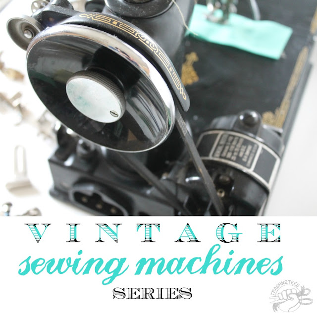 Sewing on Vintage Antique Sewing Machines