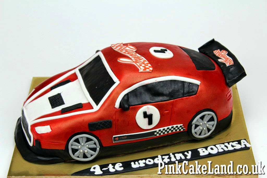 Sport Car Birthday Cake, Enfield