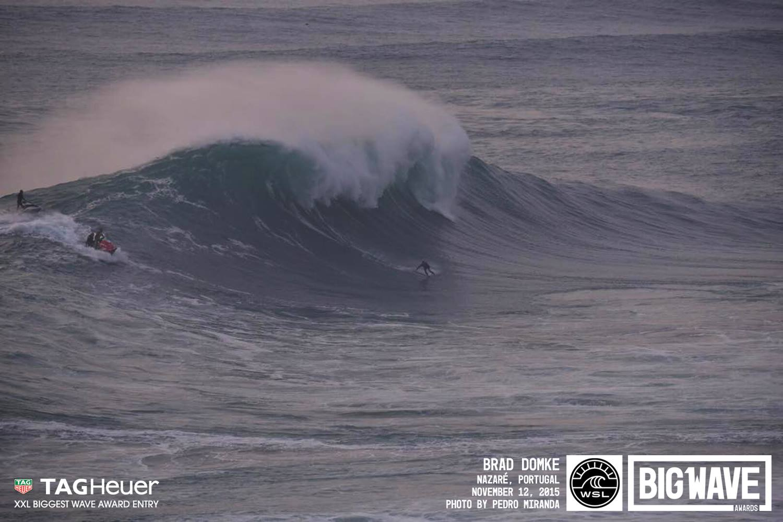 brad domke nazare surf