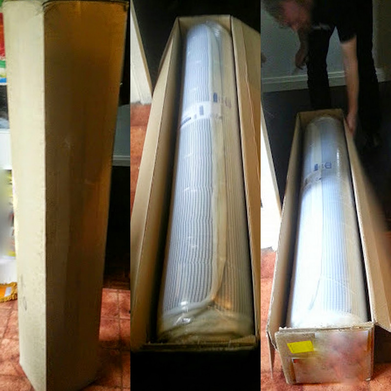 New rolled up method of mattress delivery reduces environmental impact