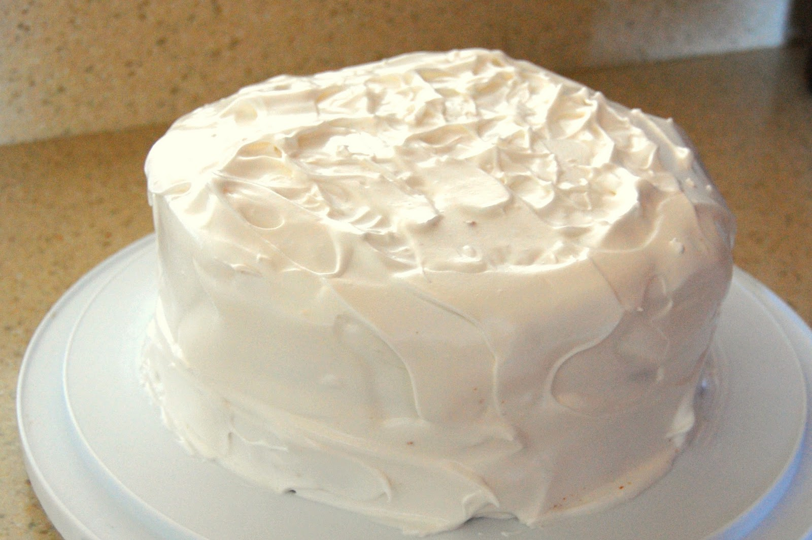 Images Of Cake With Icing : Whipped Frosting Recipe   Dishmaps