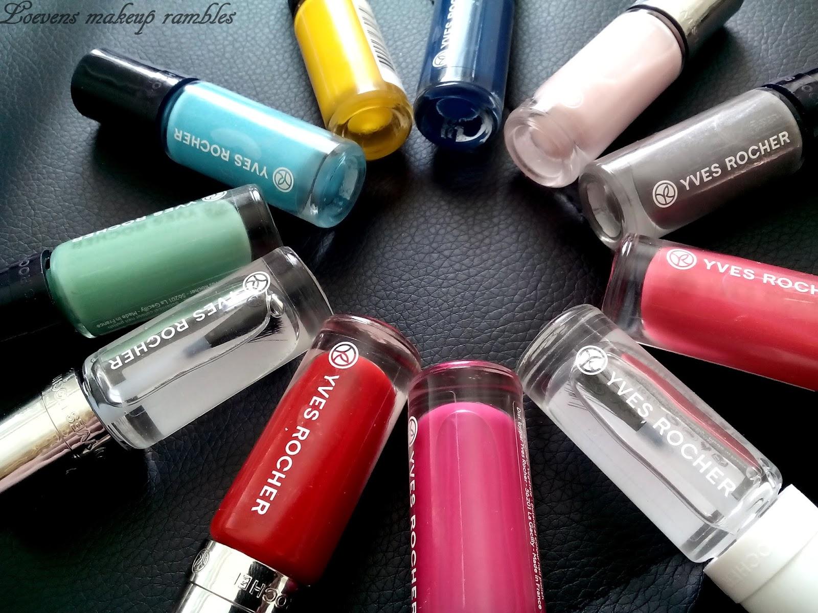 Yves Rocher NEW nail polishes! | *Loevens makeup rambles*