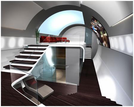 Airplane Interior Design